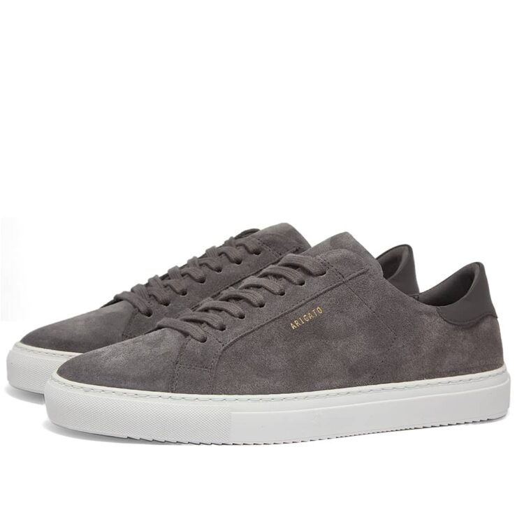 Axel Arigato Clean 90 Suede Sneakers 'Grey'