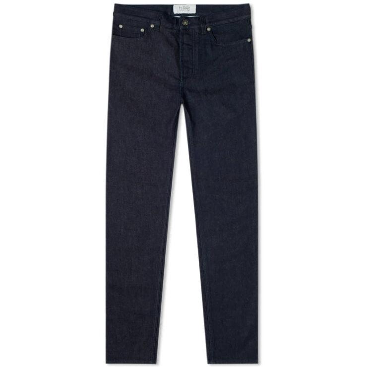 Givenchy Split Logo Slim Jeans 'Indigo'
