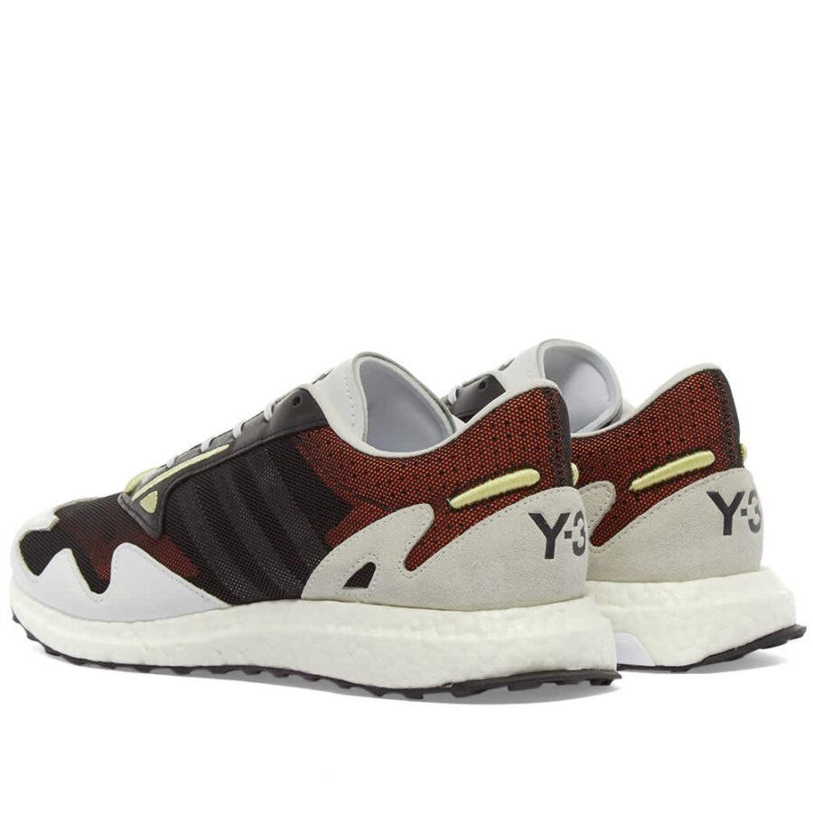 Y-3 Rhisu Run Sneakers 'Black, White & Yellow'