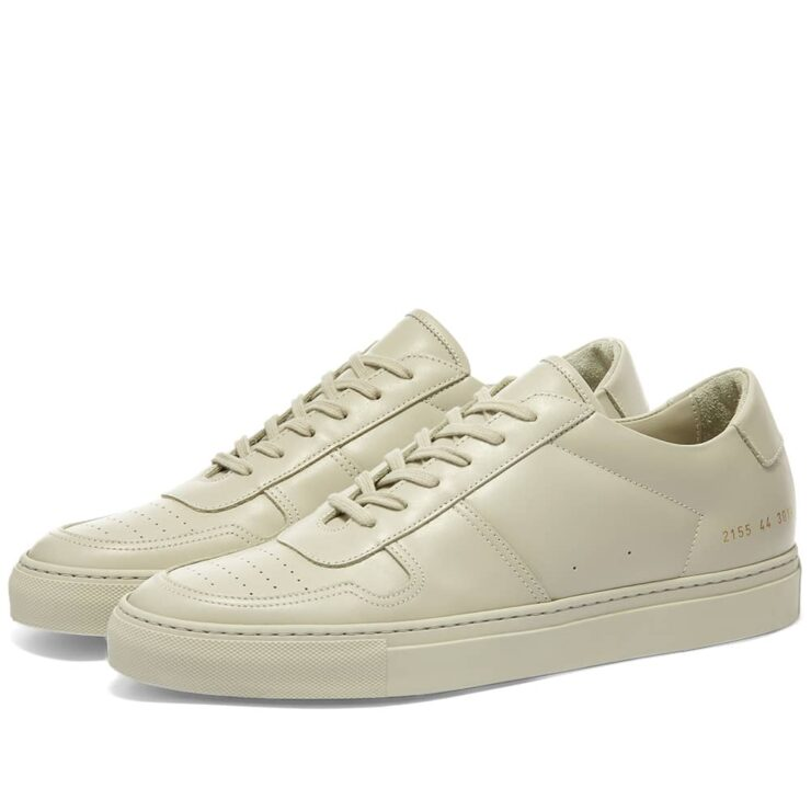 Common Projects B-Ball Low Sneakers 'Carta'