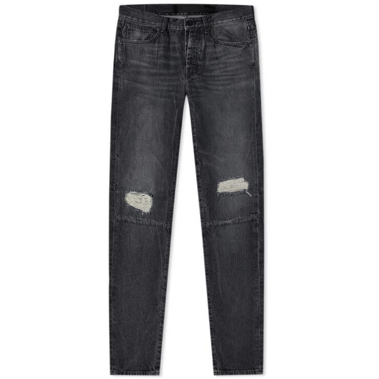 Unravel Project Vintage Skinny Jeans 'Black'