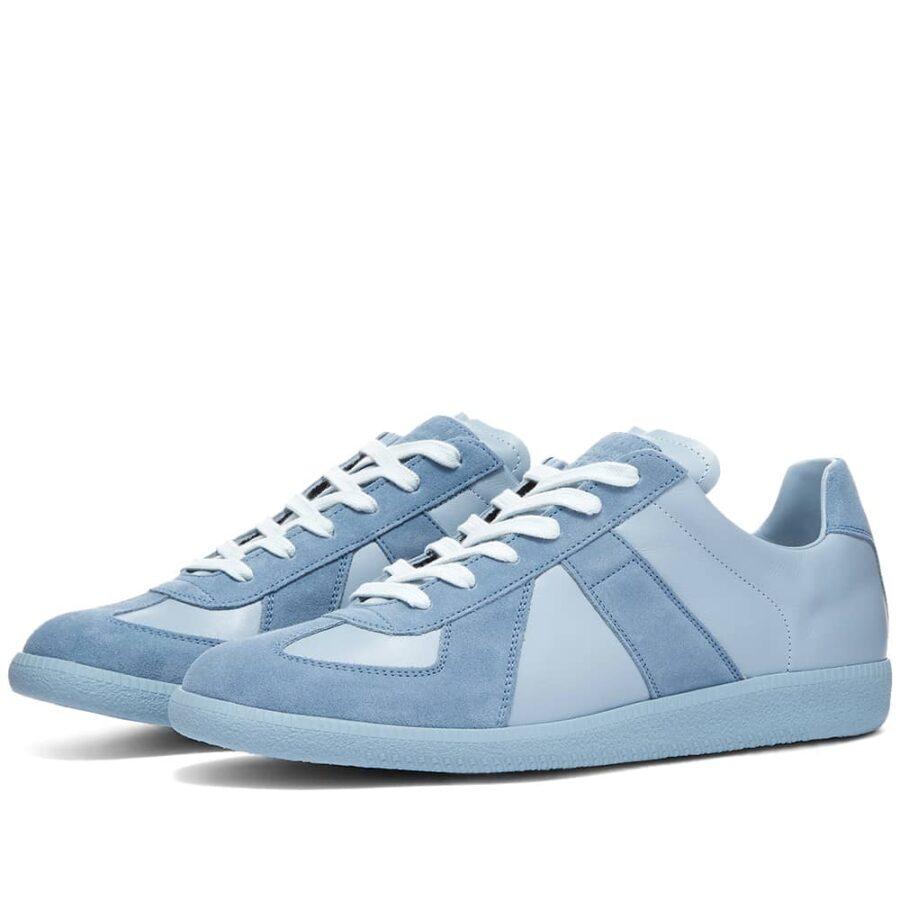 Maison Margiela 22 Tonal Replica Sneakers 'Blue Fog'