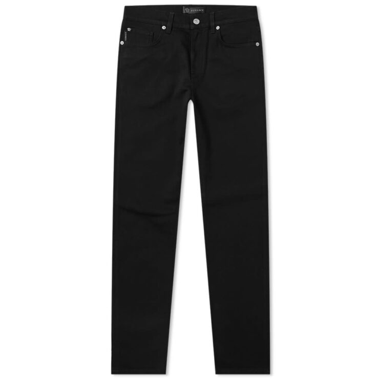 Versace Classic Straight Fit Jeans 'Black'