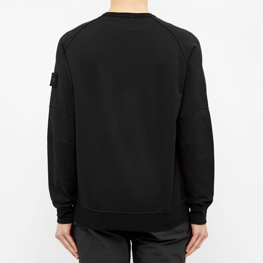 Stone Island Ghost Piece Sweatshirt 'Black'
