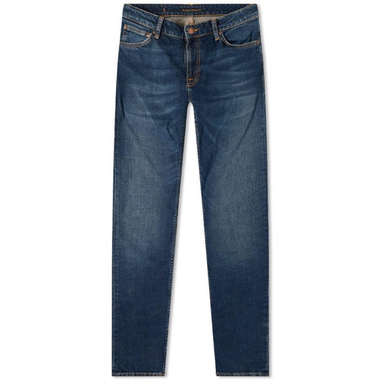 Nudie Skinny Lin Jeans 'Worn Blue'
