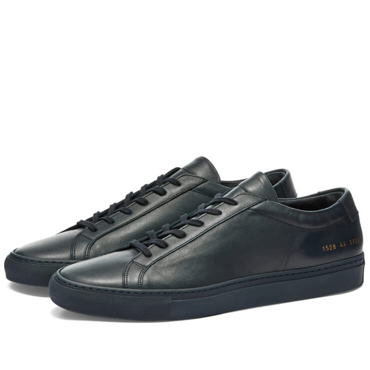 Common Projects Achilles Low 'Dark Navy'