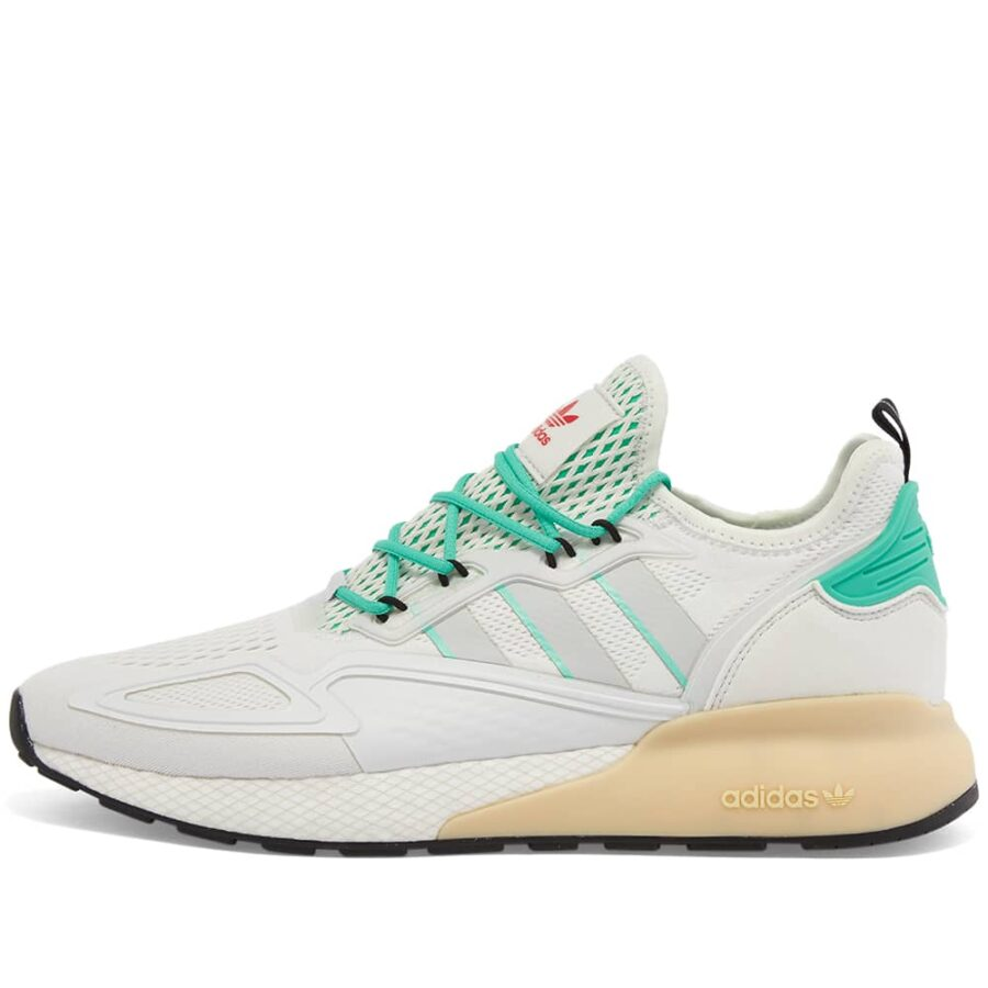Adidas ZX 2K Boost 'White & Green'