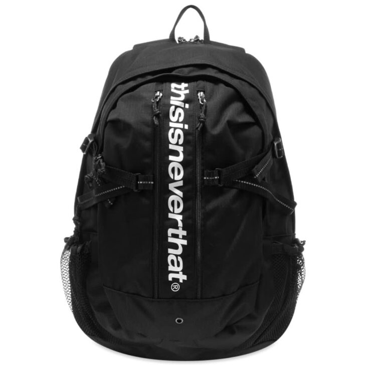 Thisisneverthat Cordura 330D Nylon Backpack 'Black'