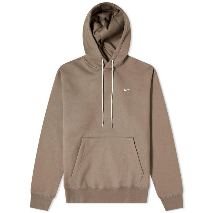 Nike Lab NRG Essential Fleece Hoody 'Olive Grey'