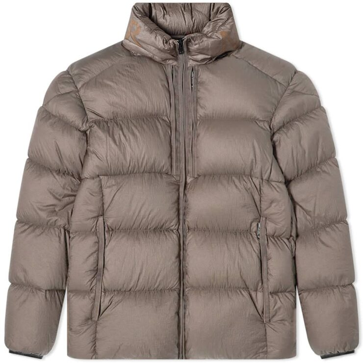 Moncler Cevenne Garment Dyed Down Jacket 'Grey'