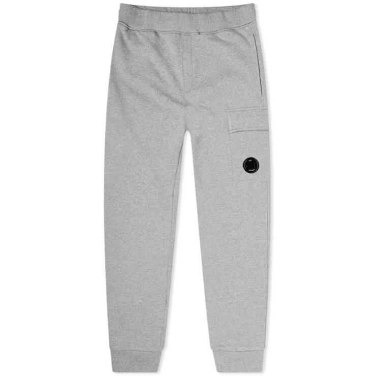C.P. Company Pocket Lens Sweatpants 'Grey'