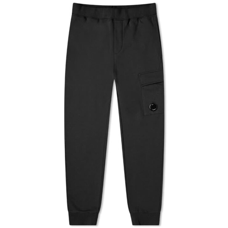 C.P. Company Pocket Lens Sweatpants 'Black'