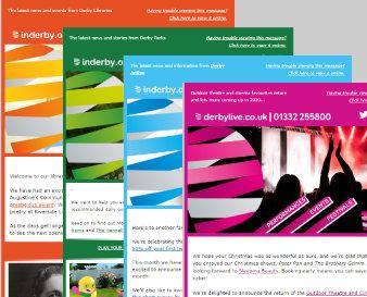E-newsletter examples