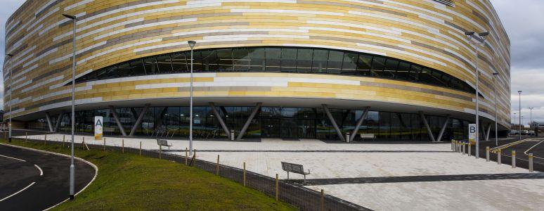 Derby Arena exterior