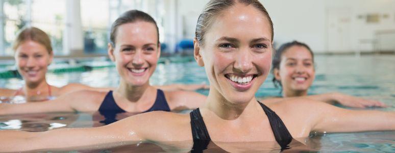 Lane swimming at Derby Pools