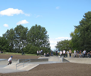 Image for link to The Skate Park