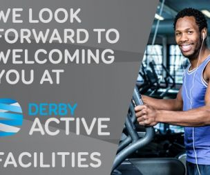 Image for link to Welcome Back to Derby Active Facilities