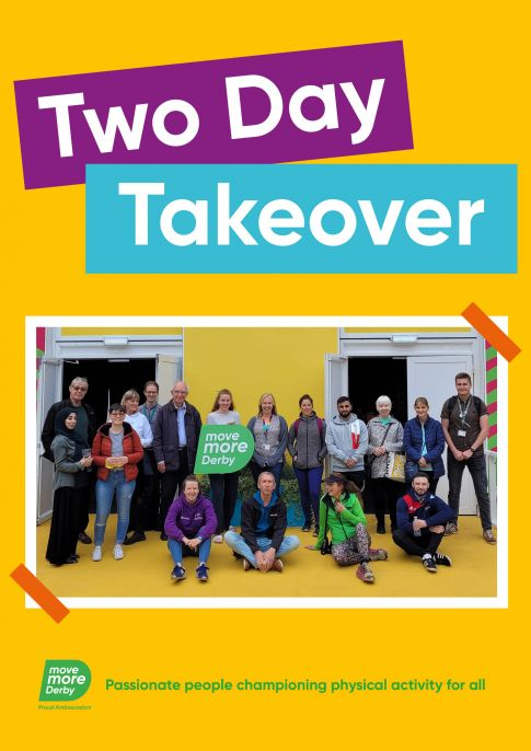 Move More Derby Proud Ambassadors - Two day Takeover