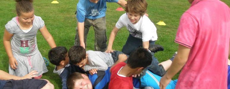 Children in Derby's parks