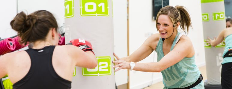 Boxercise at Derby Arena