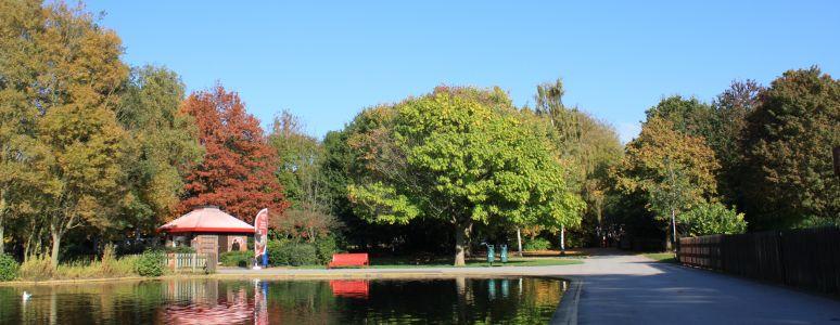 Alvaston Park lake