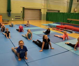 Image for link to Gymnastics
