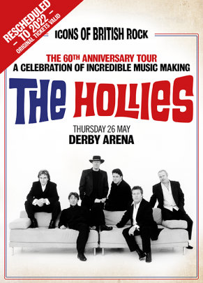 Image for An Evening with The Hollies - 60th Anniversary tour 2022