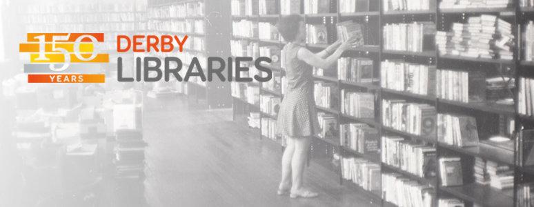 150 logo Derby Libraries