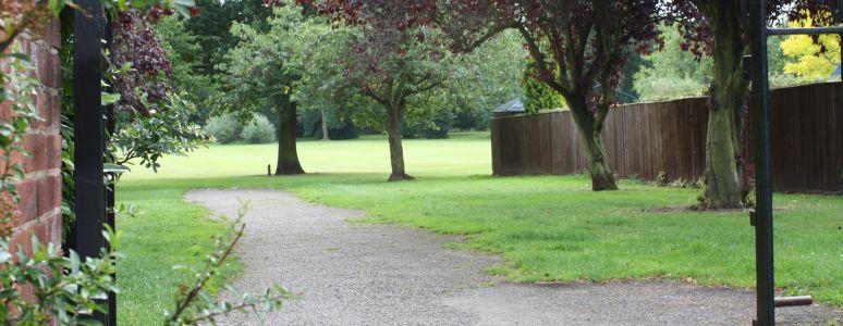 Pathway at Chaddesden Park
