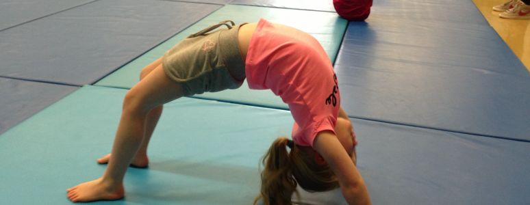 Gymnastics at Springwood Leisure Centre