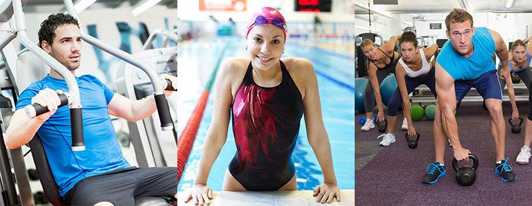 Gym, swim and class leisure memberships