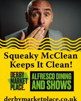Squeaky McClean Keeps It Clean!