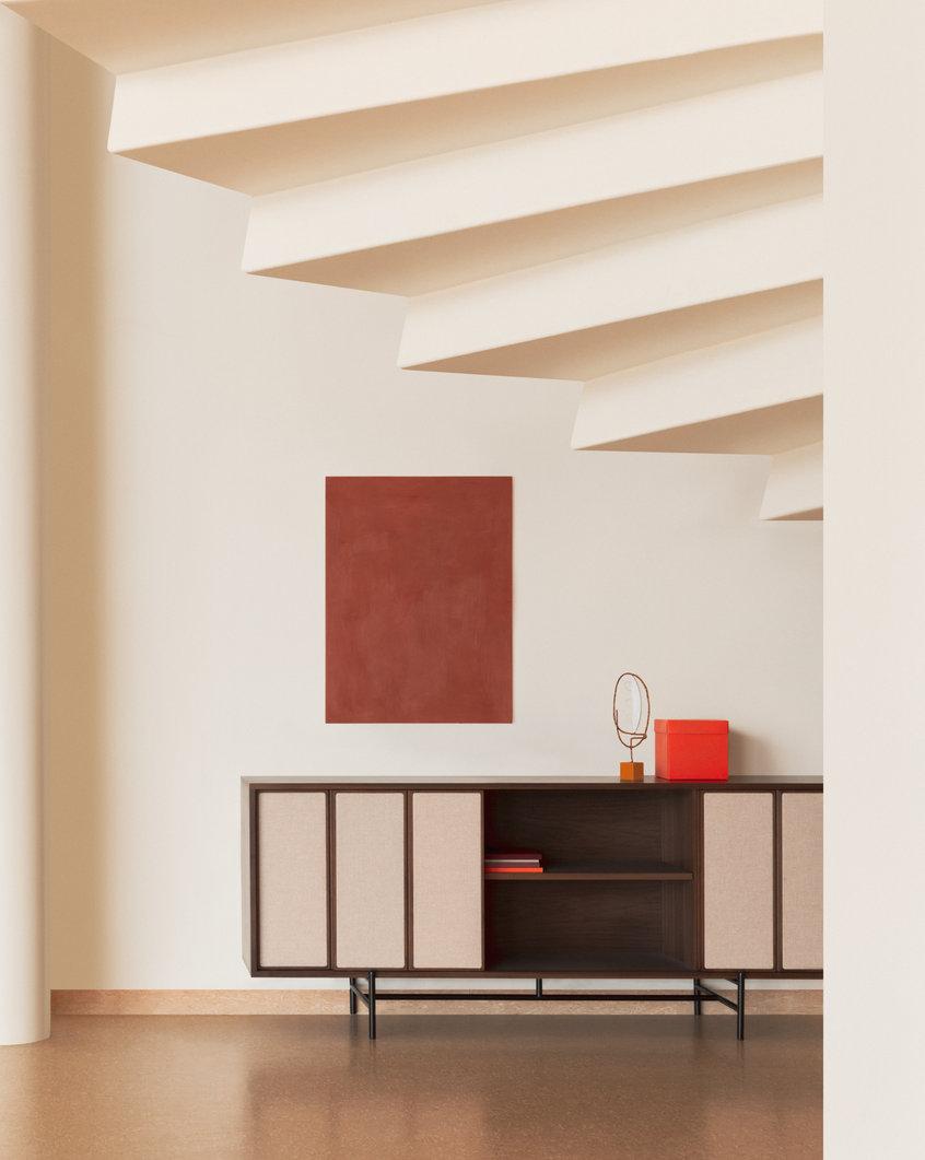 Lifestyle image of Canvas Large Cabinet
