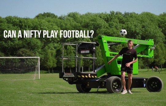 Can a Nifty Play Football?