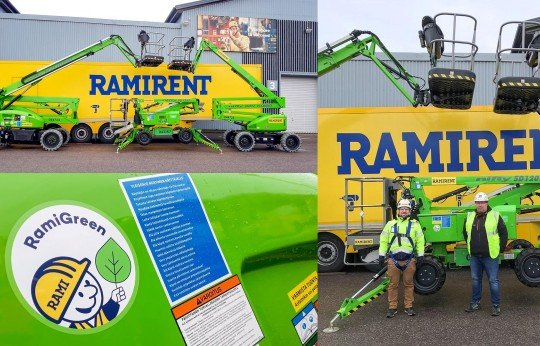 More Niftylifts for Ramirent