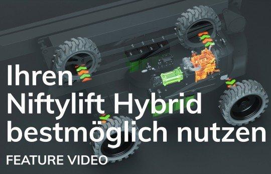 Ihren Niftylift Hybrid bestmöglich nutzen