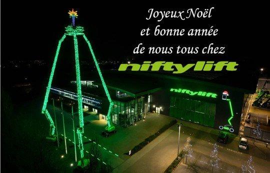 Joyeux Noël de Niftylift