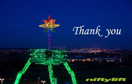 A Key Worker 'Thank You' from Niftylift