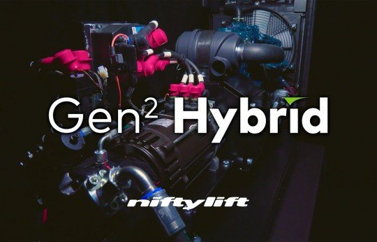 Niftylift introduce Gen2 Hybrid