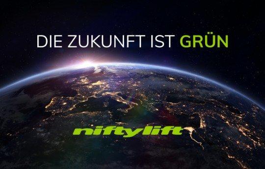 Niftylift stellt seine vollelektrische Reihe vor
