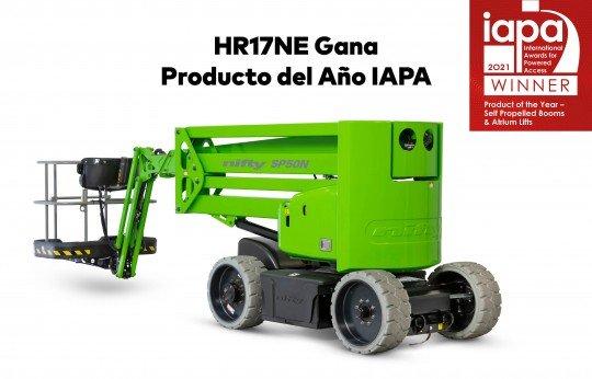 HR17NE Gana Producto del Año IAPA