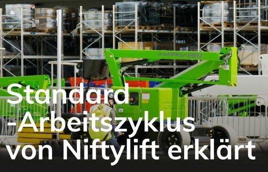 Standard-Arbeitszyklus von Niftylift erklärt