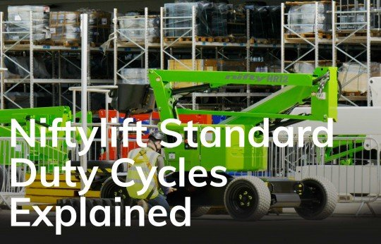 Niftylift's Standard Duty Cycles Explained