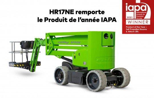 HR17NE Produit de l'année IAPA