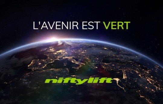 Niftylift présente sa gamme tout électrique