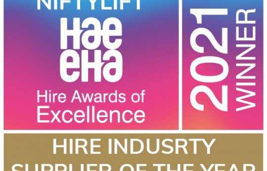 Niftylift Wins Supplier of the Year