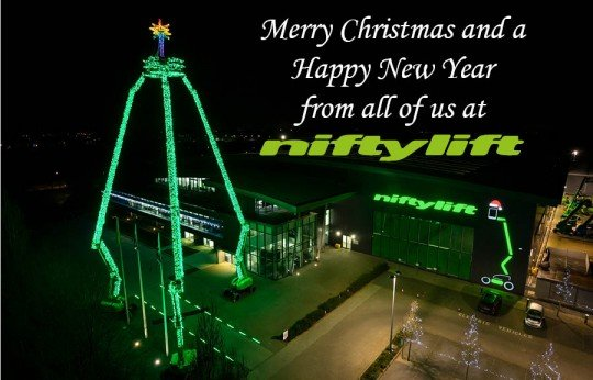Merry Christmas From Niftylift!