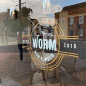The Worm Has Turned - Opening 17 May