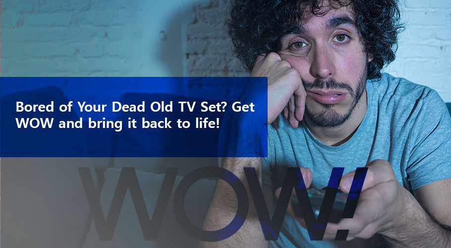 Bored Of Your Dead Old Tv Set Get Wow And Bring İt Back To Life!