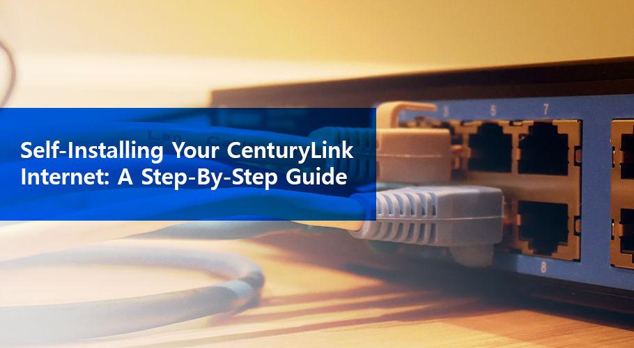 How to Self install your CenturyLink Internet | CenturyLink
